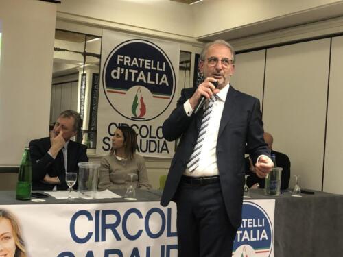 Bianchi in FdI, si dimette D'Amico