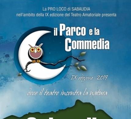 Sabaudia, il parco e la commedia al via la IX edizione