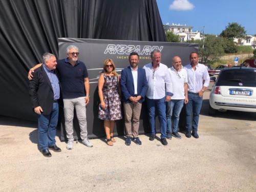 la rinascita di Rizzardi: presentato un nuovo yacht